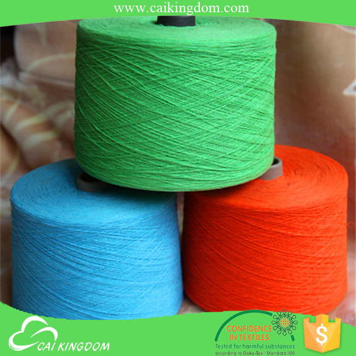 Trade Assurance 60% polyester 40% cotton 2015 new fashion style knitting yarn