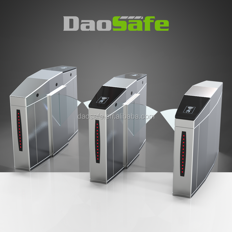 Bi - Directional Fingerprint Turnstile Security Gates