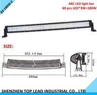ARC LED Light Bar 60 pcs LED 180W