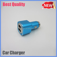 factory price promotional dual port car charger usb, Custom usb car charger for samsung phone
