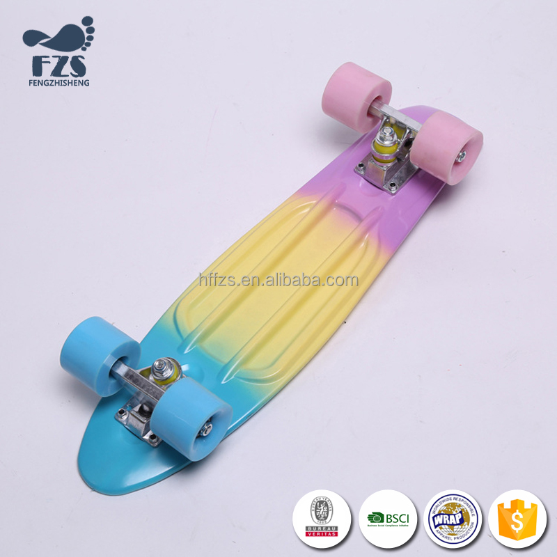 HSJ225 High quality wholesale fish complete skateboard
