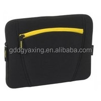 2015 Hot sale Eco-friendly neoprene laptop sleeve without zipper for USA market