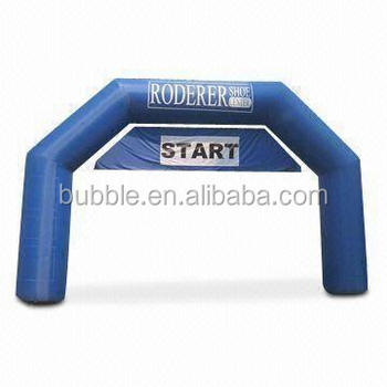 Inflatable start line arch outdoor event use Inflatable arch gate for sale