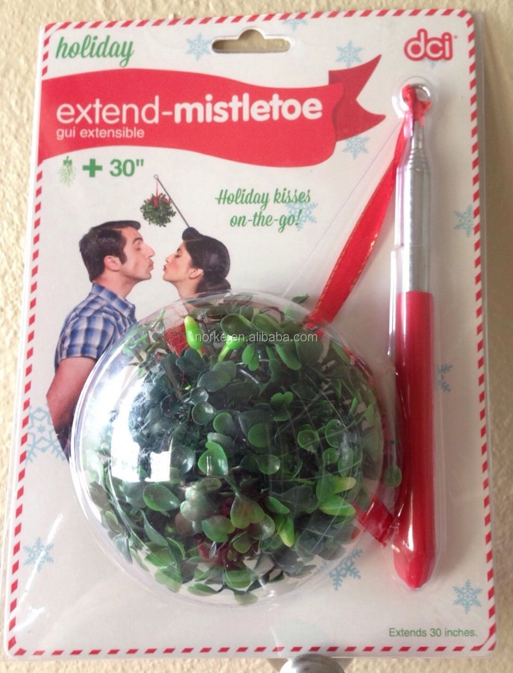 Extending Selfie Mistletoe Stick