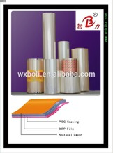 Hot Sell plastic pet film roll gold supplier