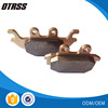 High Performance Front sintered bronze ATV Brake linings Arctic Cat 09-12 300 DVX FA377R