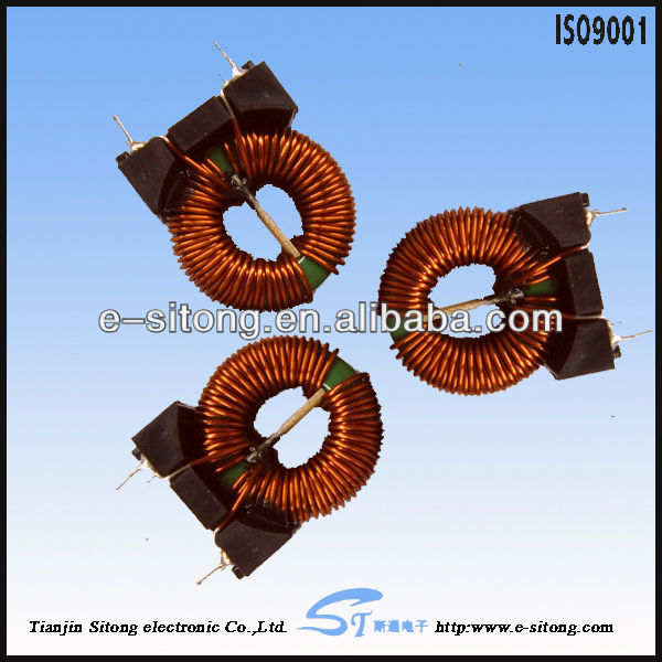 copper toroidal electric heating coil