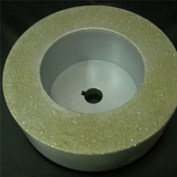 professional manufacturer electroplated diamond squaring wheel for ceramic