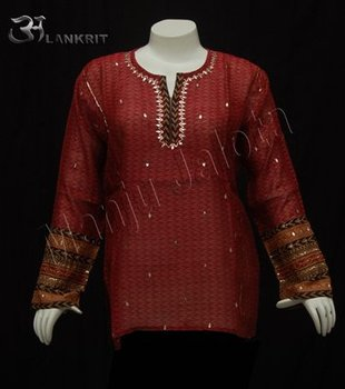 Mix matched kurti