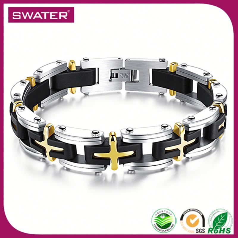 Innovation 2016 Cross Motor Chain Bracelet