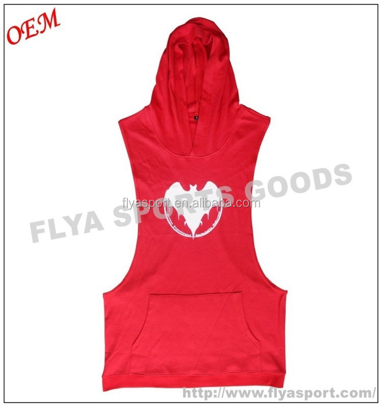2018 china factory price oem service custom plain stringer hoodies for men