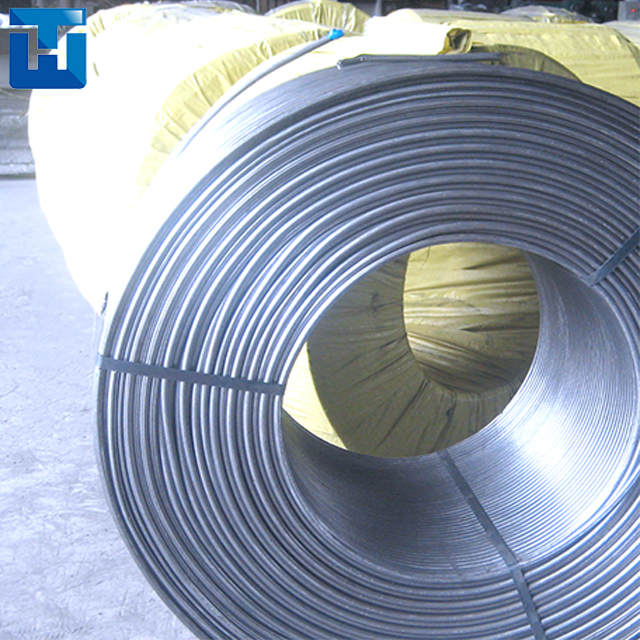 CaSi/SiCa Cored Wire for Foundry Industry