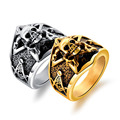 Marlary Fashion Jewelry Classic Skull Stainless Steel Ring Made In China