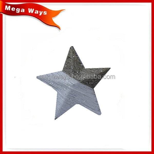 Christmas paper glitter star decoration