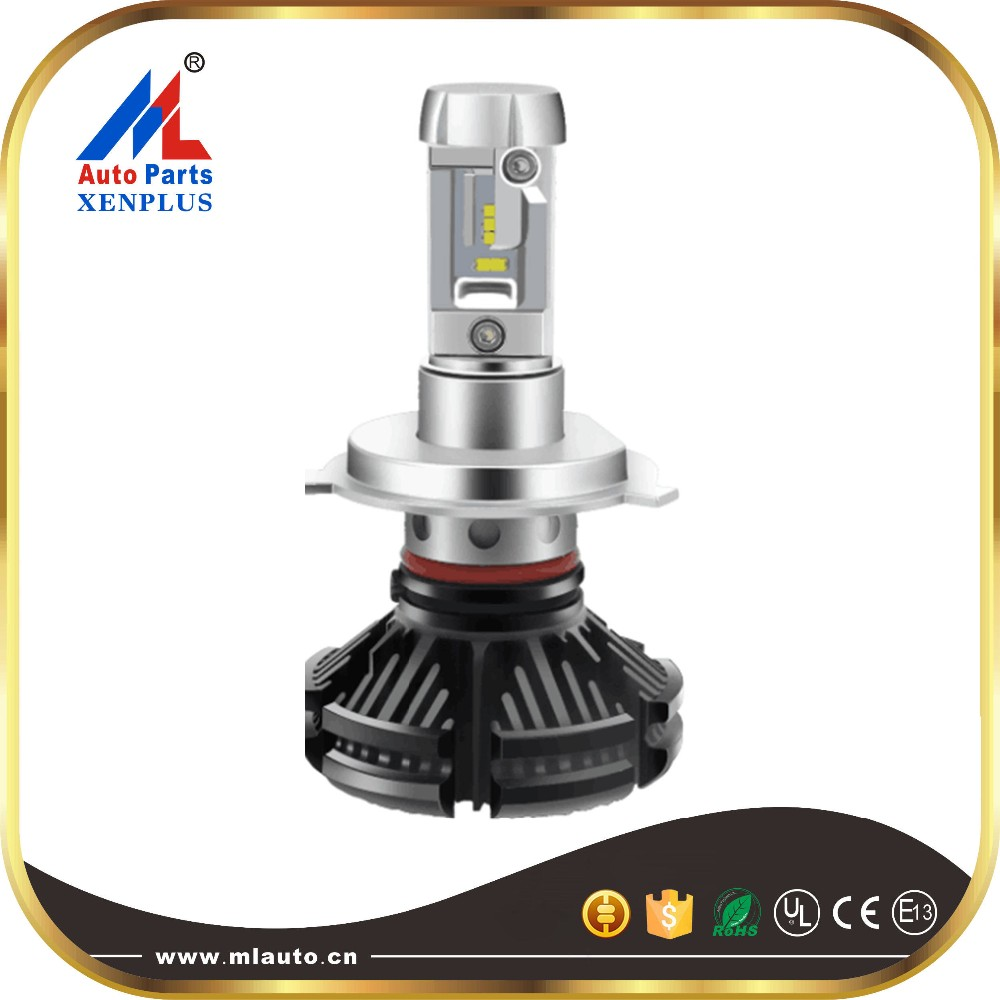 high quality factory direct led headlight Q2 36w 4000lm 9004 COB led headlight
