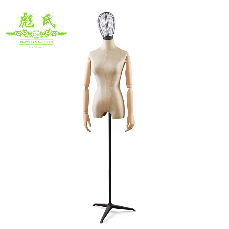 Fiberglass Plus Size Female Mannequin