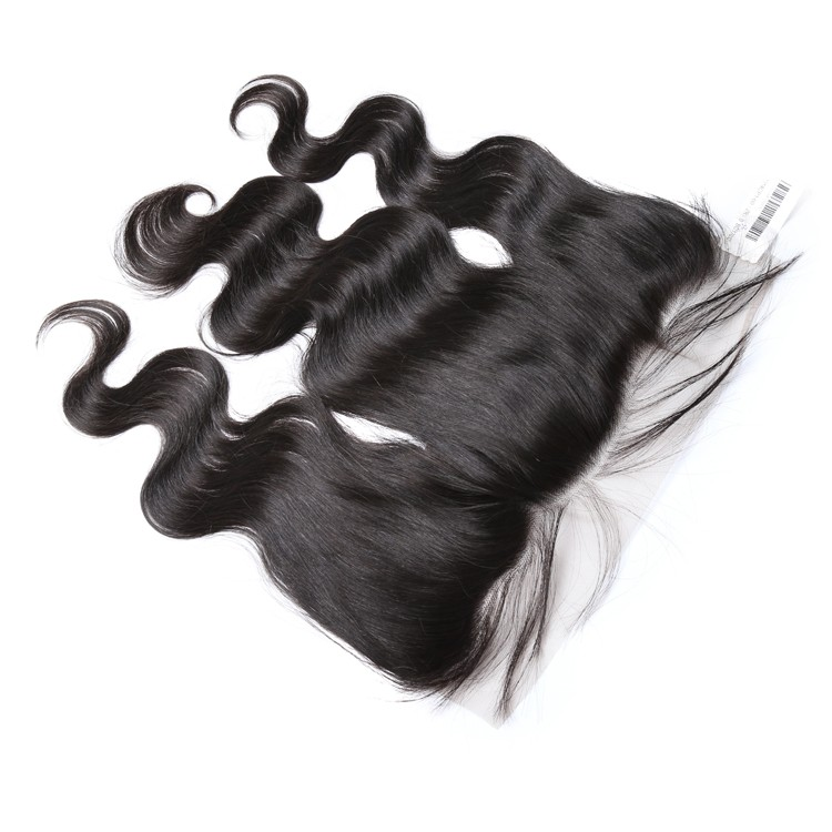 XBL wholesale price Brazilian body wave natural hair line pre plucked lace frontal