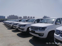 "Chinese Well-known Brand ""Huanghai"" Double Cab Diesel 4WD Pickup Truck"