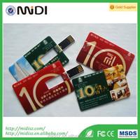 2016 wholesale bulk cheap business card usb flash drive,credit card usb,custom usb card