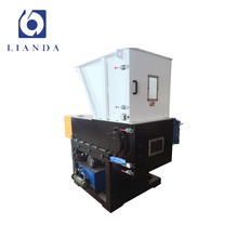 One shaft carton and hard plastic shredder machine for small business