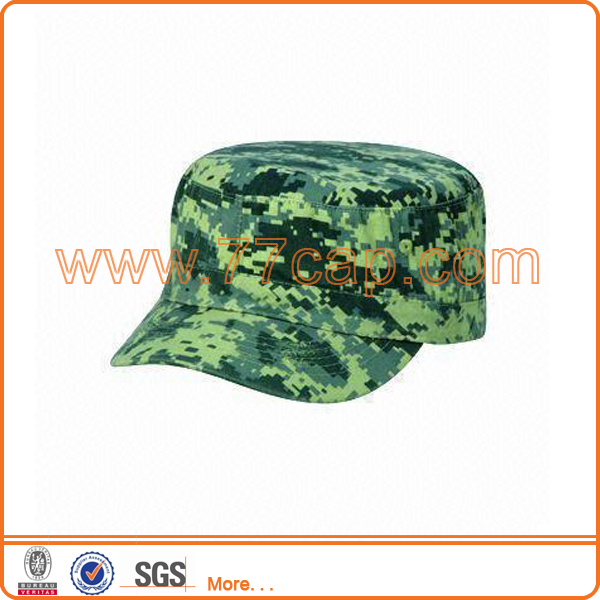 Outdoor digital camouflage military hat