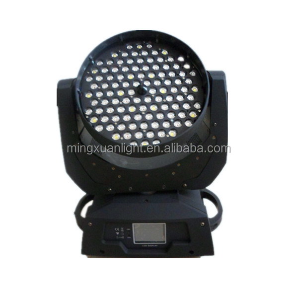 Professinal disco dj stage light 108x3w led moving head wash