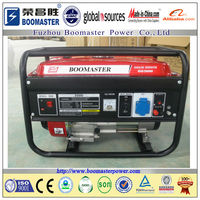 5KW prime power open gasoline generator with air cooled