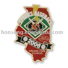 Lapel Pin, Badge, Emblems, Photo Offset Pins