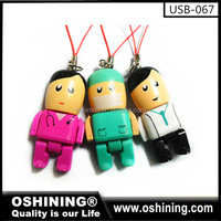 Promotion creative design flash memory usb for gift