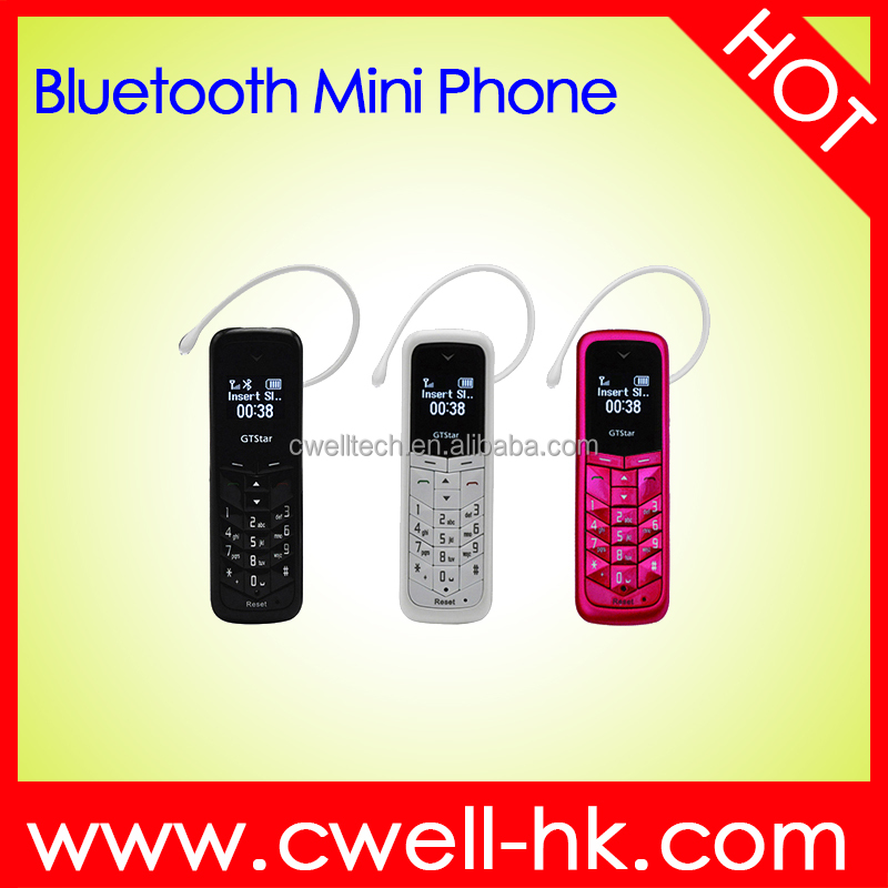 0.66 Inch OLED Screen Bluetooth GTstar BM50 Slim and Small Cute Mobile Phone