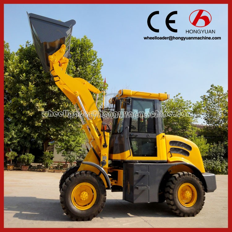 2016 Compact wheel loader ,China mini tractor loader and backhoe excavator price/mini backhoe loader