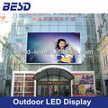 P10, P16 high brightness outdoor popular led sign display, advertising led screen panel