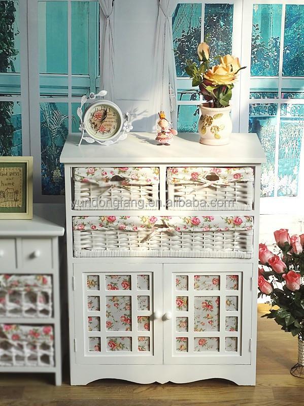 nouveau shabby chic meubles blanc bois massif armoire de. Black Bedroom Furniture Sets. Home Design Ideas