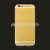 Gold plated mobile phone housing for iphone 6,24k real gold cell phone housing,for iphone 6 plus gold housing