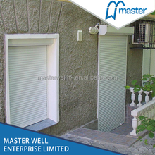 Metal roll up windows / roller shutter