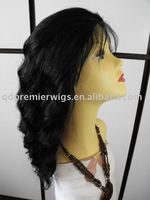 Synthetic hair stock wig