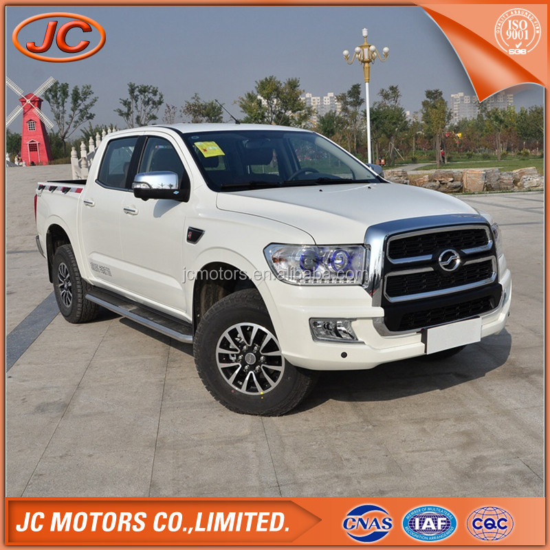 China new pickup 4wd double cabin mini pickup truck for sale