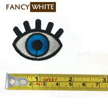 Wholesale embroidery sequin cartoon patches designer custom applique eyes
