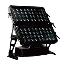 Double Head Outdoor 72pcs RGBW 4in1 LED Wall Washer Light