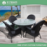 Hot Outdoor Rattan Garden Furniture Sale For Coffee Shop