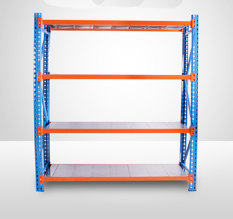 Medium duty storage shelves 4S auto spare parts <strong>rack</strong>