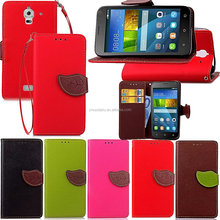 OEM&ODM new product hot sell high quality stand view flip leather case for huawei y336
