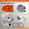 Quality chain saw parts chainsaw spares fits STIHL MS260 026 MS240 024