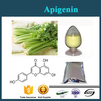 High quality of Apigenin 98% from chamomile apigenin extract