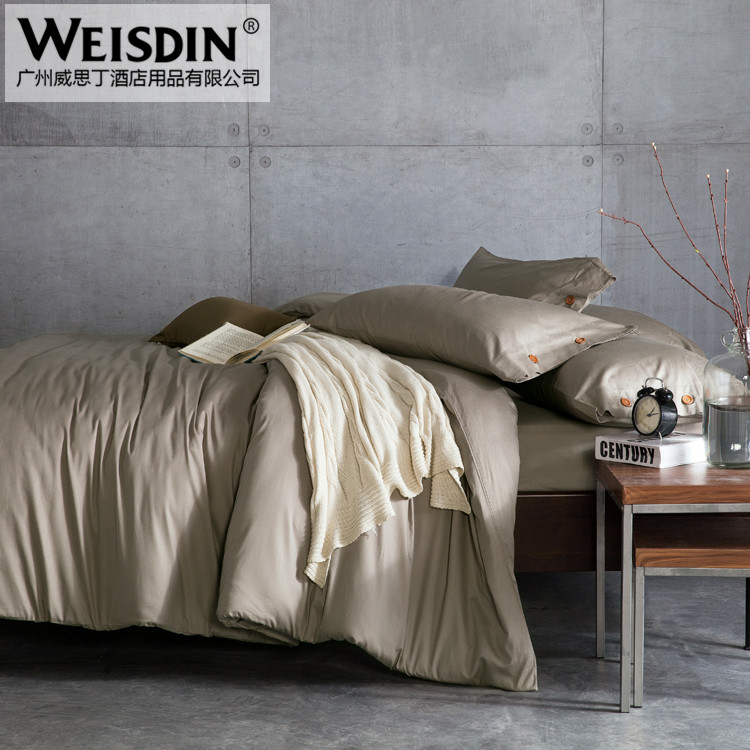 Wholesale cheap 5 star four seasons hotel motel bed sheet bedding sets