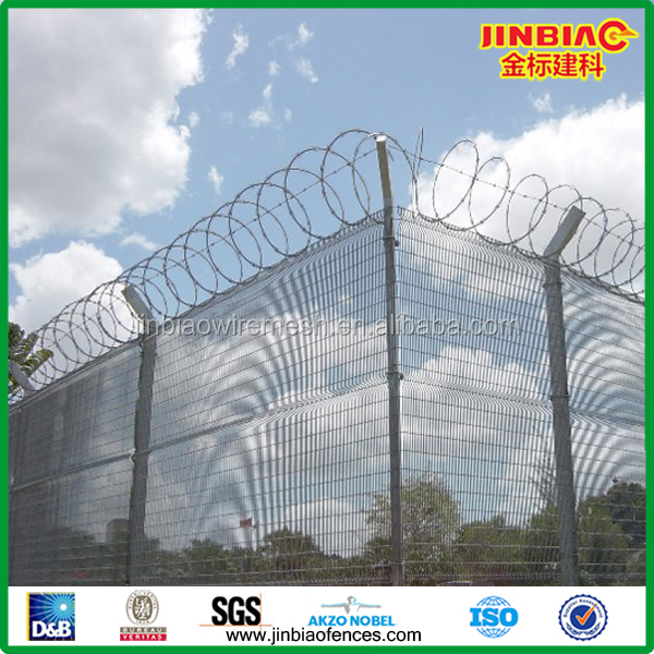 airport fence/high security fence(Manufacture)/peach post airport fence