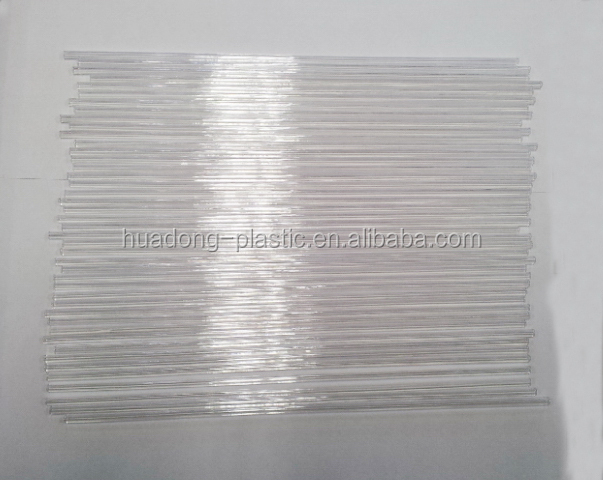 New products of plastic clear lollipop sticks PC material