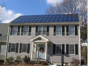 whole house solar power system 1000w solar system for home use