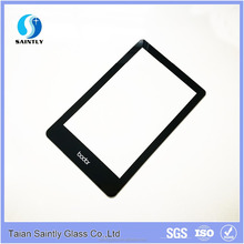 4mm tempered protective screen glass covers with frame printed with white