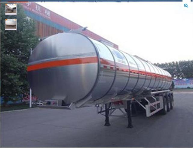 2 axle or 3 axle different size tank high pressure LPG gas trailer